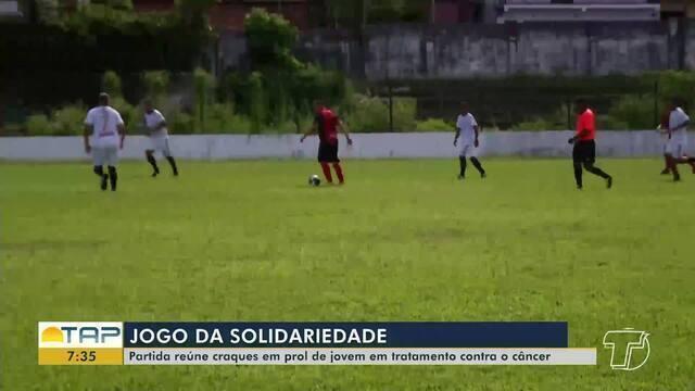 Seleção Santarena e São Raimundo Master realizam jogo solidário em Santarém