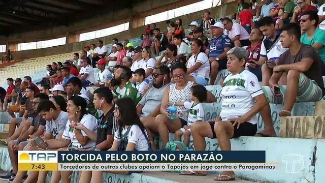 Santarenos vão ao estádio apoiar Tapajós na disputa do Parazão