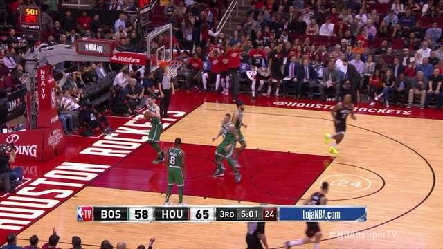 Melhores momentos de Houston Rockets 116 x 105 Boston Celtics, pela NBA