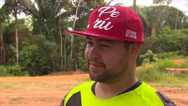 Hugo Amaral é o único piloto de motocross freestyle da região Norte