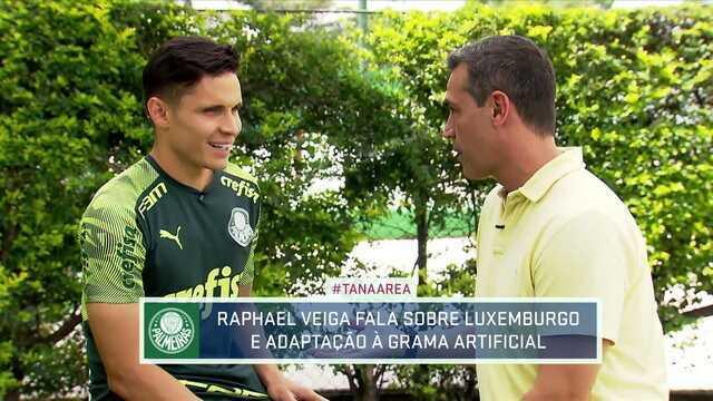 Autor do gol da virada do Palmeiras, Raphael Veiga é especialista na grama sintética