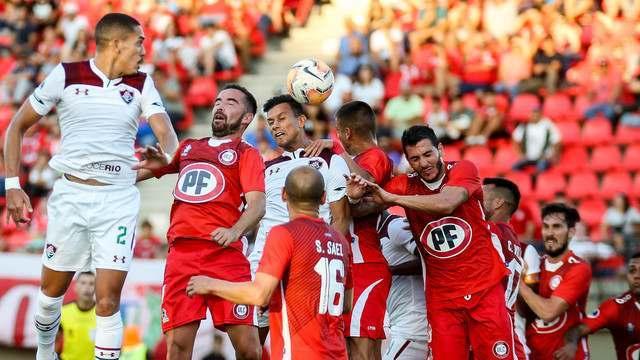 Melhores momentos de Unión La Calera 0 x 0 Fluminense pela Copa Sul-Americana