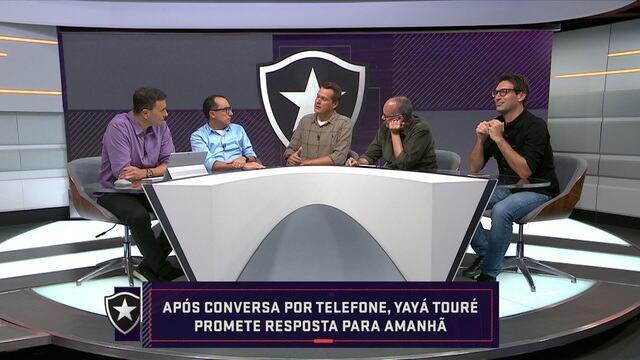 Comentaristas falam sobre a empolgação de Yayá Touré com o Botafogo