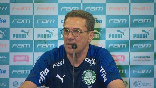 Vanderlei Luxemburgo fala sobre a vitória do Palmeiras sobre o Guarani
