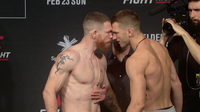 Pesagem do UFC Aukland: Dan Hooker x Paul Felder pelo peso-leve