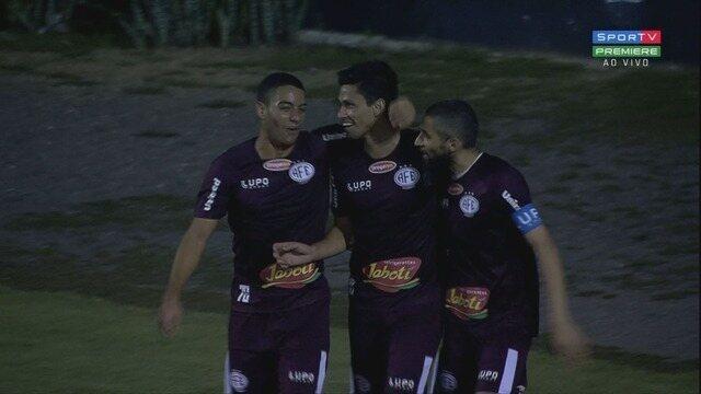 Gols de Ponte Preta 1 x 1 Ferroviária, pela 7ª rodada do Campeonato Paulista