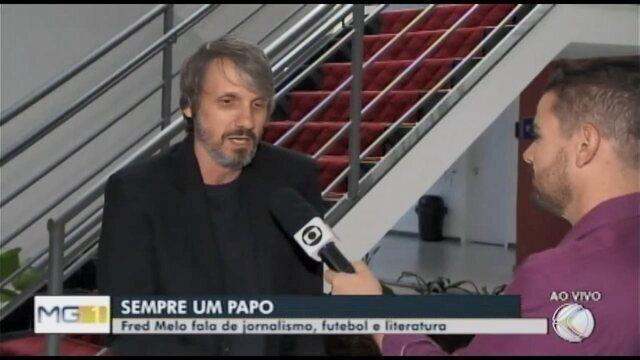 Bate papo em Araxá conversa com o jornalista e cronista atleticano Fred Melo