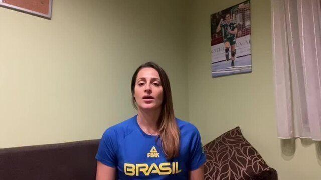 """Duda Amorim relata dificuldades para treinar: """" A temporada aqui terminaria em maio"""""""
