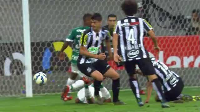Copa do Brasil - Palmeiras 2 (4) x (3) 1 Santos - Jogo de volta - 02/12/2015 (compacto)