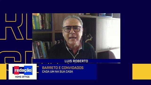 Luis Roberto brinca que narrará paredão do BBB