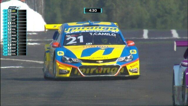 Confira o treino classificatório da Stock Car para a etapa de Campo Grande