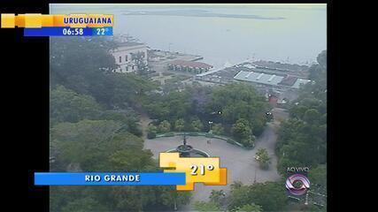 Previsão indica chuva para esta sexta-feira no Rio Grande do Sul