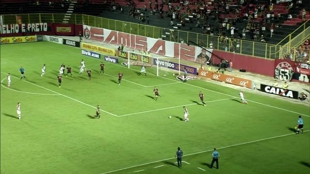 Veja os videos de Vitória 1 x 2 Flamengo - Brasileirão 2014