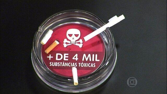 Cigarro provoca alterações e problemas na pele