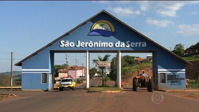 Vice de São Jerônimo da Serra assume a prefeitura