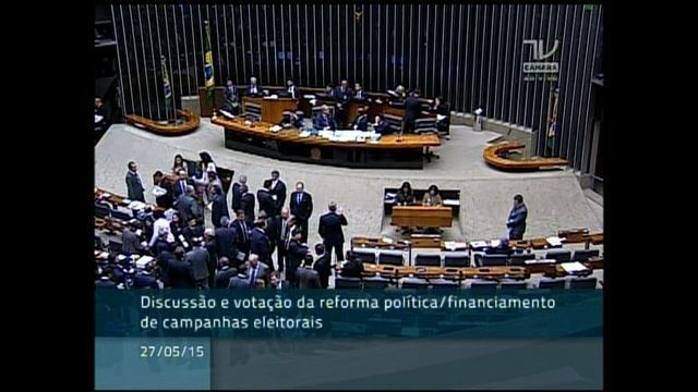 Vai 'cair máscara' de quem defendia reforma, diz Cunha após derrotas