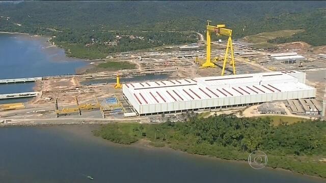 Resultado de imagem para Estaleiro na Bahia