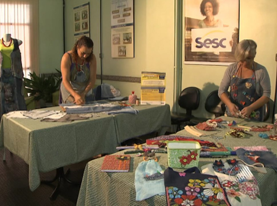 Aparador Com Gavetas Branco ~ Cursos gratuitos de artesanato começam nesta quinta feira em Salvador G1 Bahia Bahia Meio