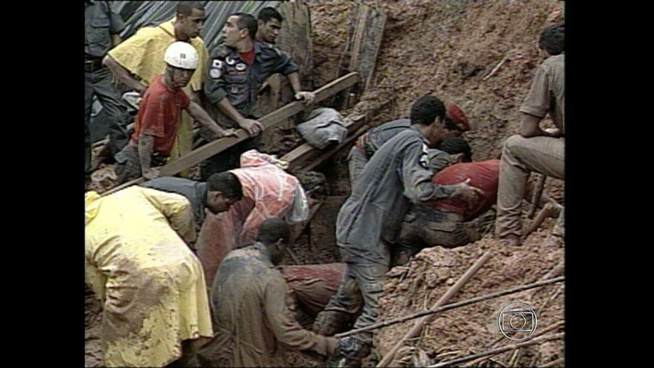 Tragedia Em Suzano Hoje Pinterest: MGTV Relembra Tragédia No Morro Das Pedras Em 2003