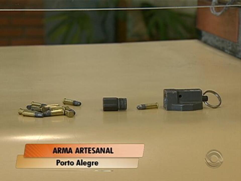 Hamburguer Artesanal Zona Sul Porto Alegre ~ Brigada Militar apreende arma artesanal na zona sul de
