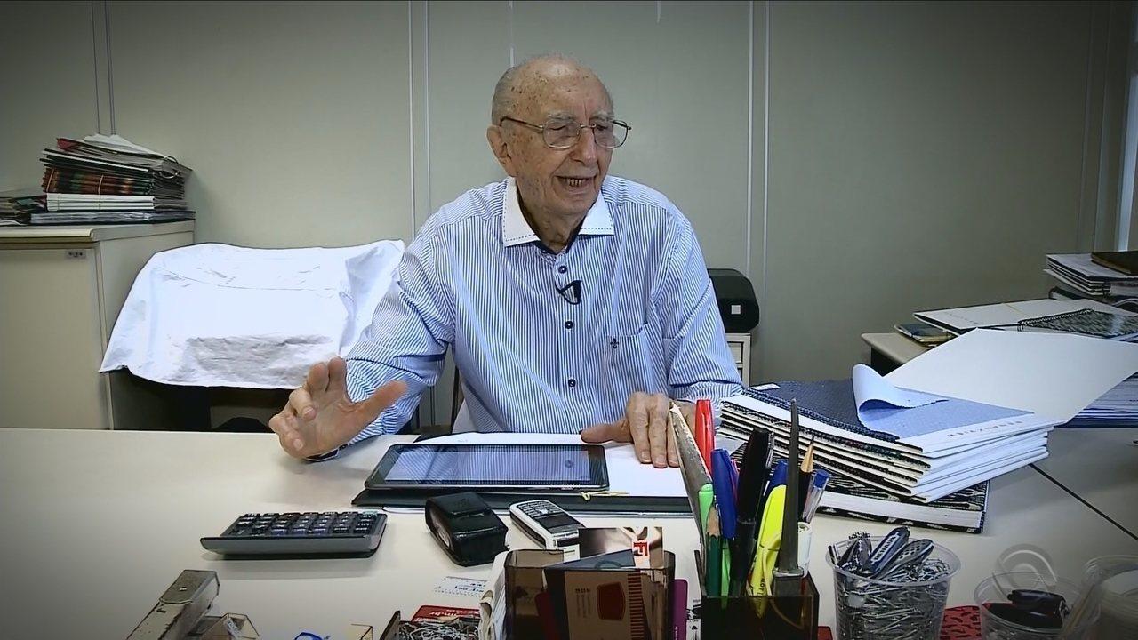 Resultado de imagem para Catarinense trabalha há 79 anos na mesma empresa: