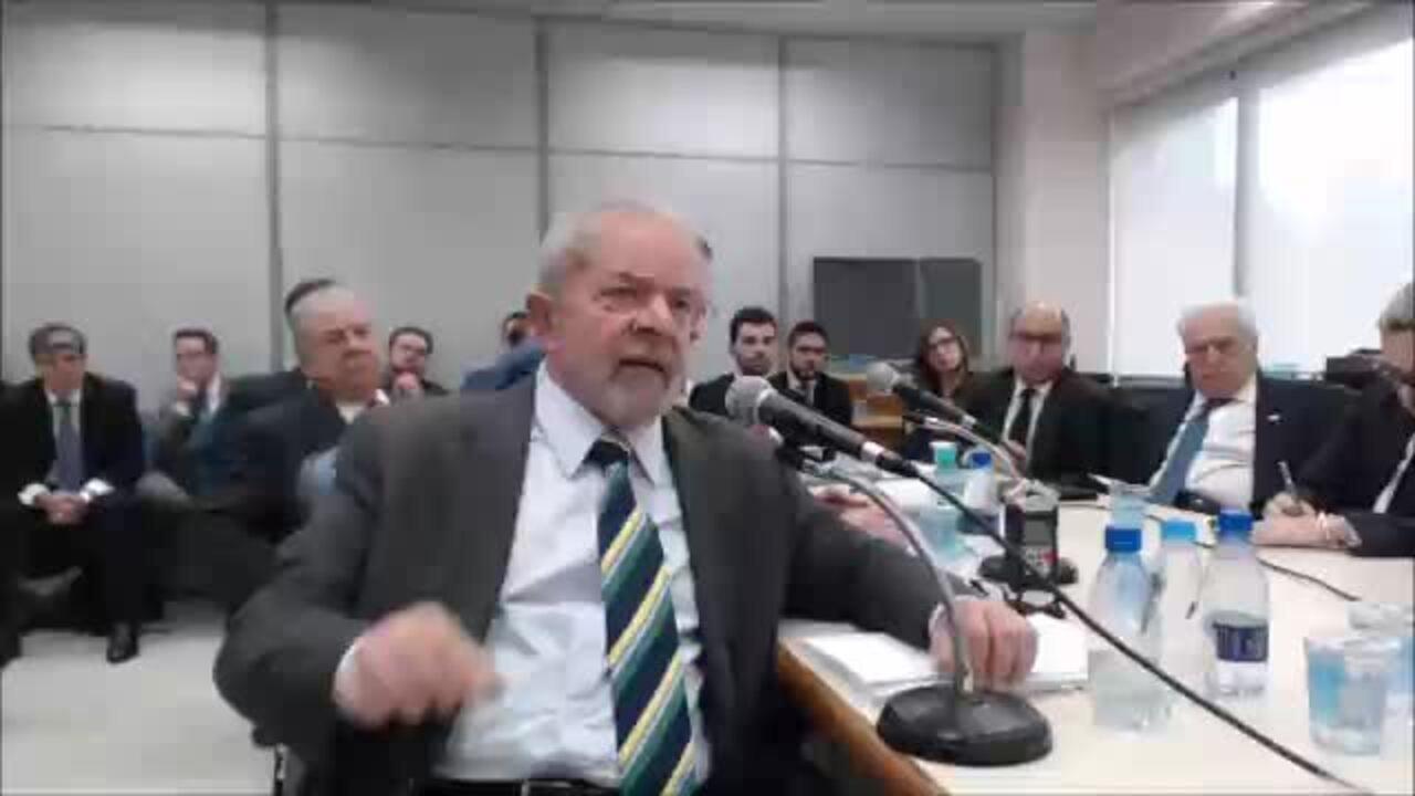 Depoimento no qual Lula diz, a partir de 18 minutos e 22 segundos, ter se encontrado com Duque no aeroporto de Congonhas