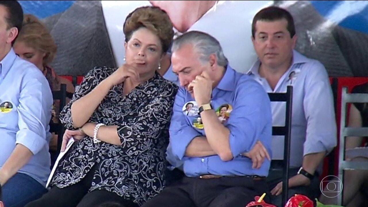 Chapa Dilma-Temer terá julgamento retomado a partir de 6 de junho no TSE
