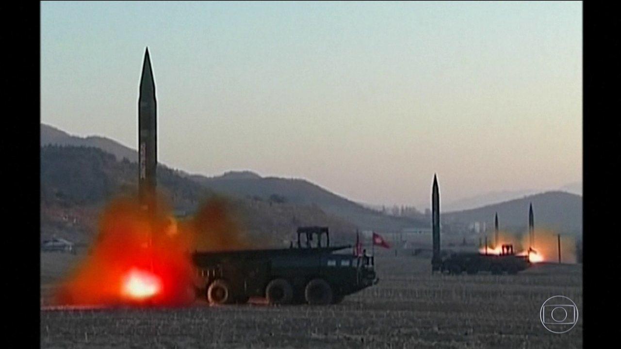 Coreia do Norte dispara projétil não identificado, diz Coreia do Sul