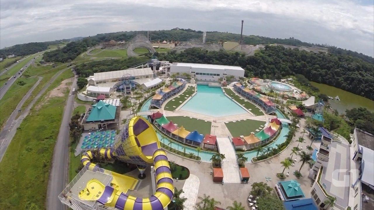 Parque aquático Wet'n Wild 'dribla' crise e fatura cerca R$ 40 milhões anualmente