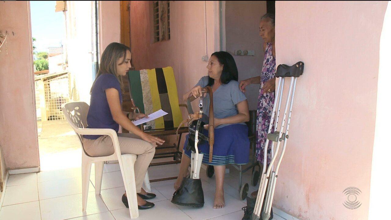 Resultado de imagem para Pessoas com deficiência física da cidade de Patos cobram próteses e aparelhos ortopédicos