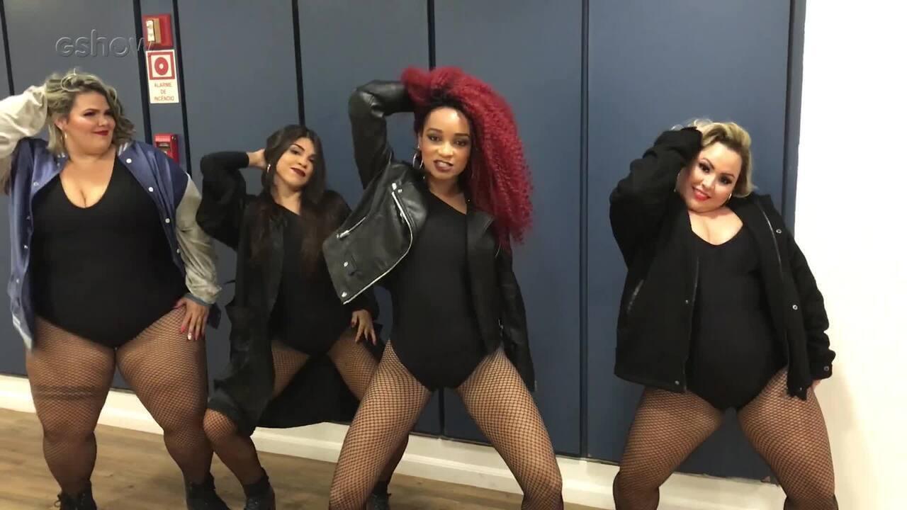 Dançarinas da Anitta ensinam a coreografia de 'Paradinha'