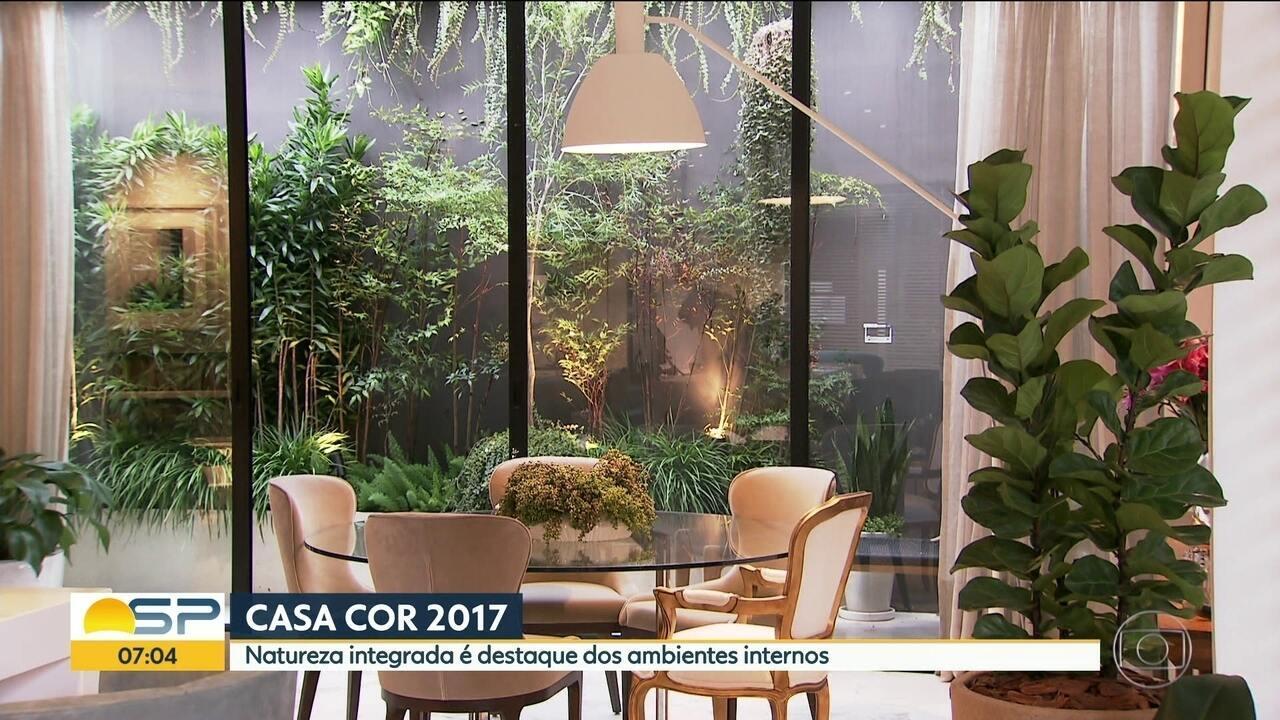 Casa cor 2017 mostra tend ncias de flores e plantas nos - Croff casa catalogo 2017 ...