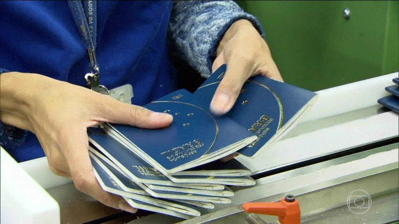 Emissão de passaportes está suspensa em todo o Brasil por falta de dinheiro