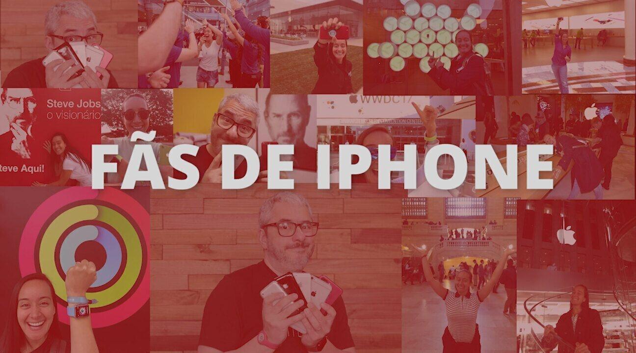 Fãs falam de como tratam iPhones como 'filhos' e dos perrengues pelo celular
