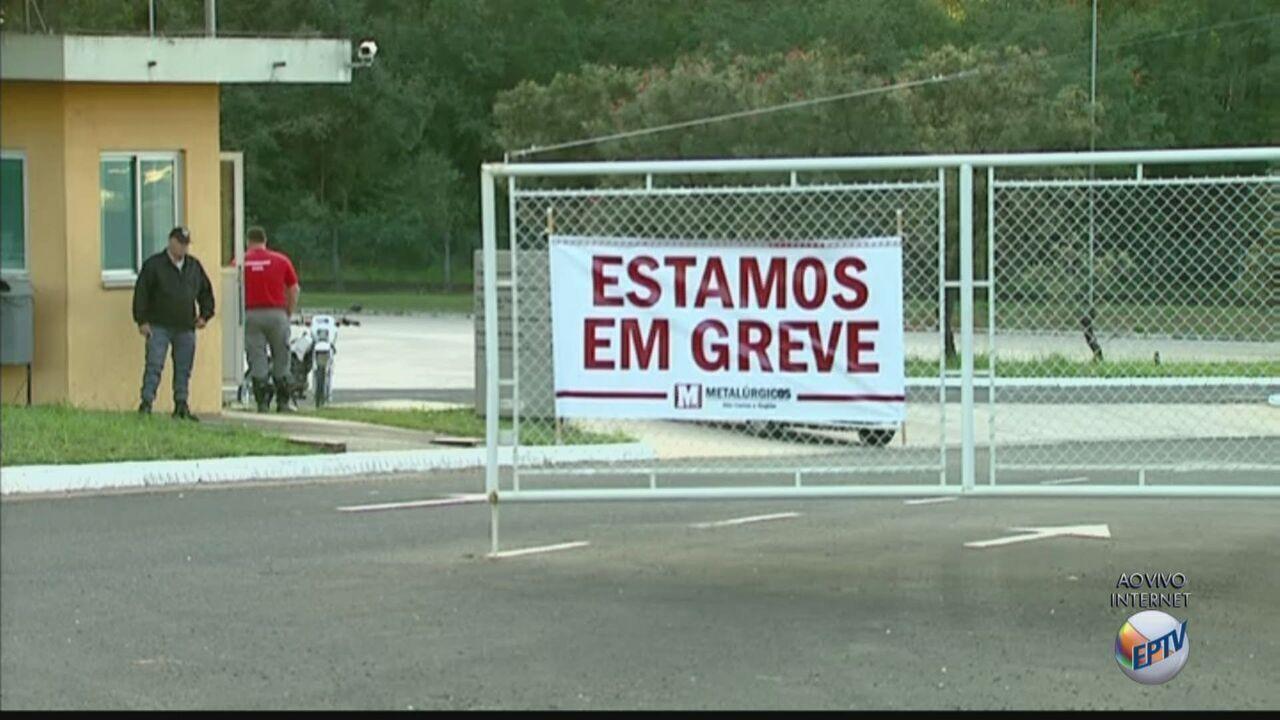 Greve tem baixa adesão na região de São Carlos