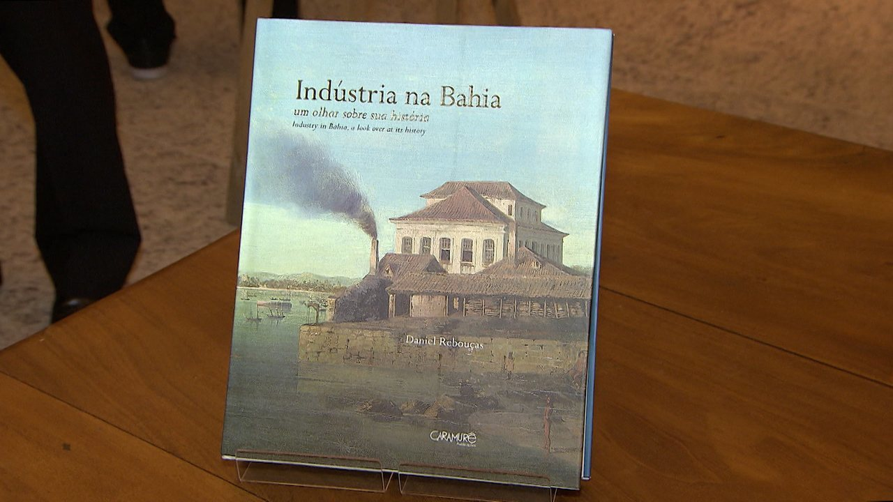 Adesivo Estrela Kalunga ~ Livro conta história da Indústria na Bahia Rede Bahia Mosaico Baiano Catálogo de Vídeos