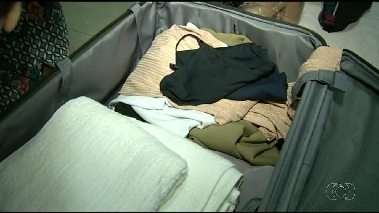 Passageiros do TO tentam reduzir bagagem para não pagar taxa extra em aviões