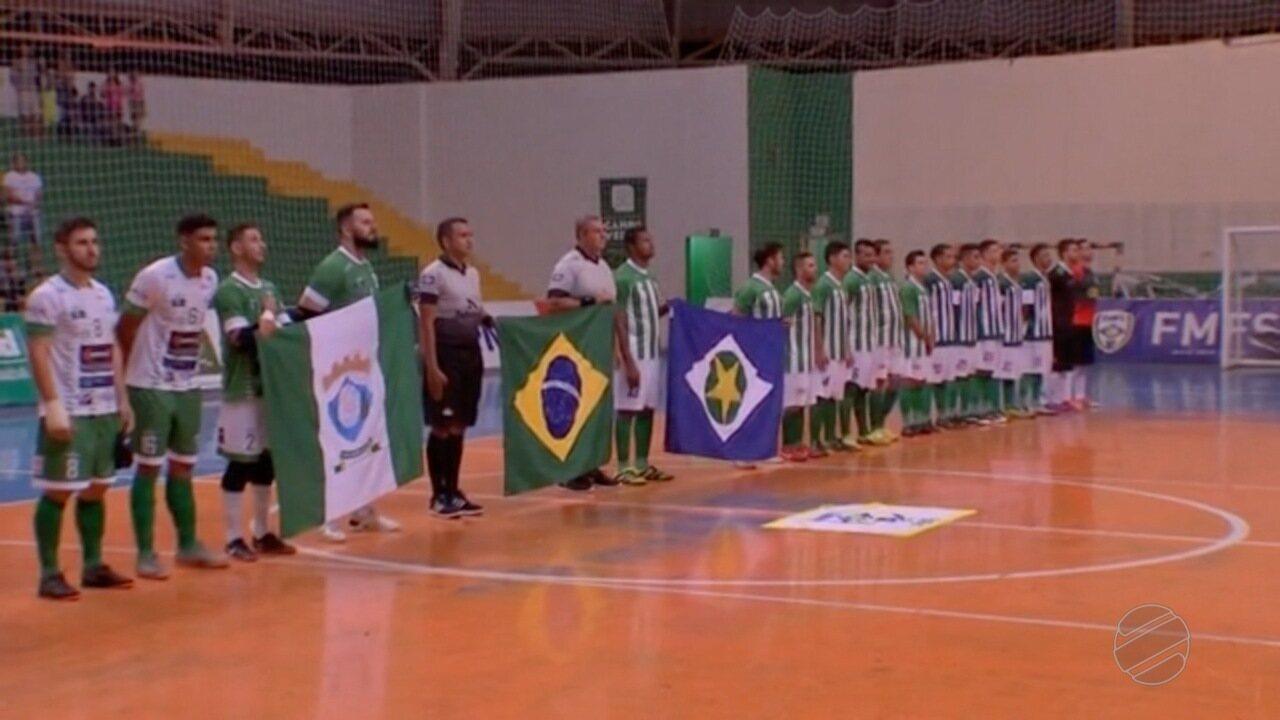 Campo Verde sediou rodada de abertura da Copa Centro América de Futsal - G1  Mato Grosso - MT TV 2ª Edição - Catálogo de Vídeos b5a6f15f5b0cc