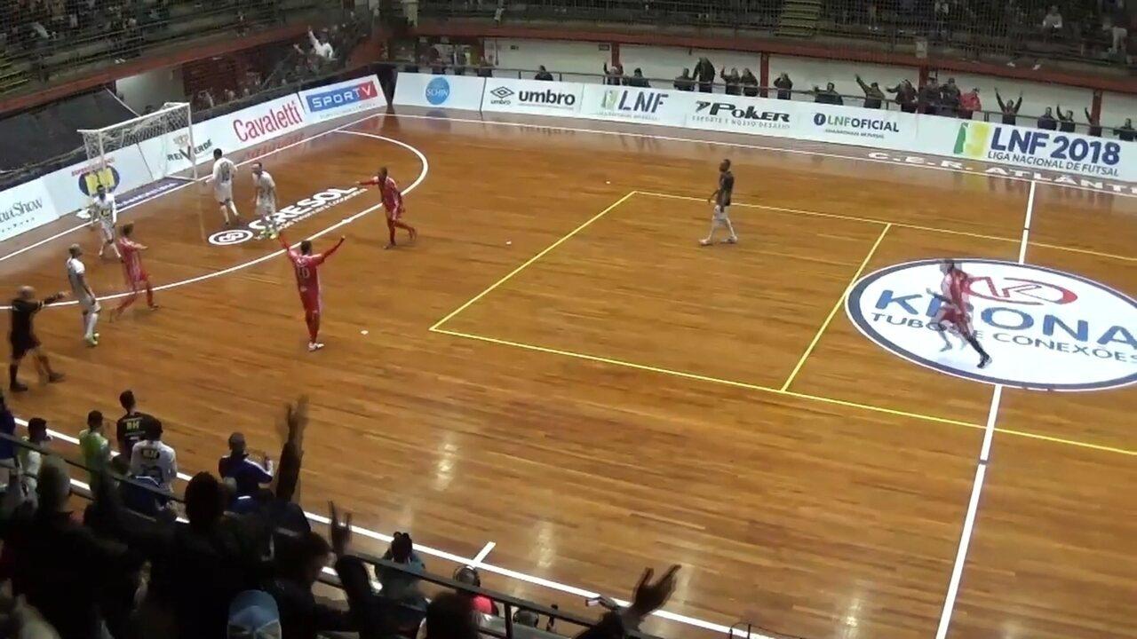 ce074d91a190c Atlântico vence o Minas pela Liga Nacional de Futsal - G1 Rio Grande do Sul  - Jornal do Almoço - Catálogo de Vídeos