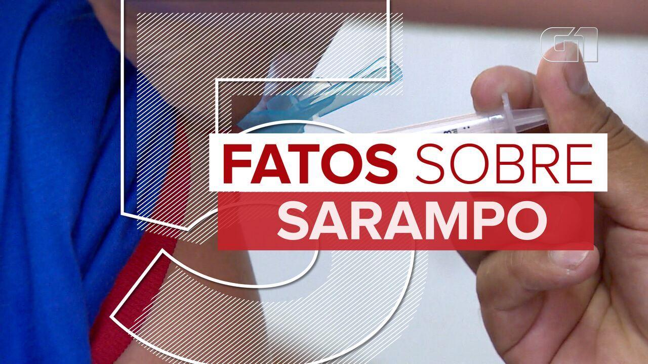 Resultado de imagem para 5 fatos sobre o surto de sarampo