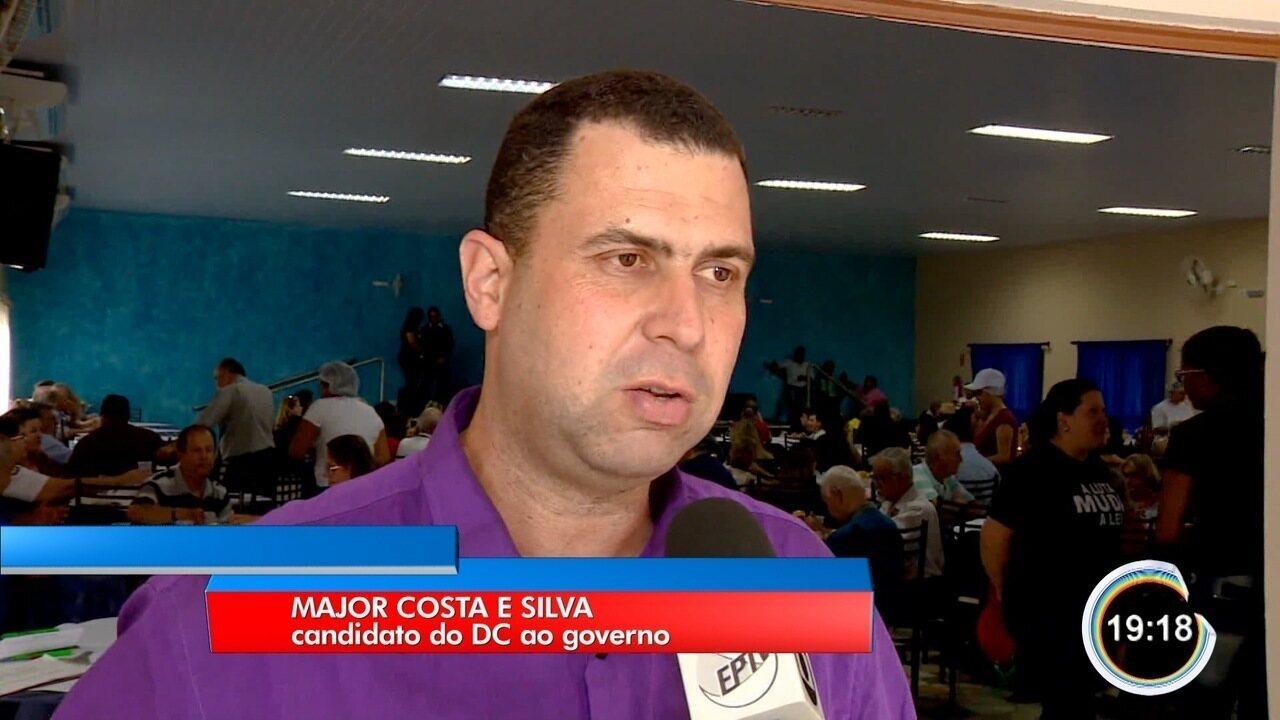 Resultado de imagem para imagem candidato a governador costa e silva em são paulo