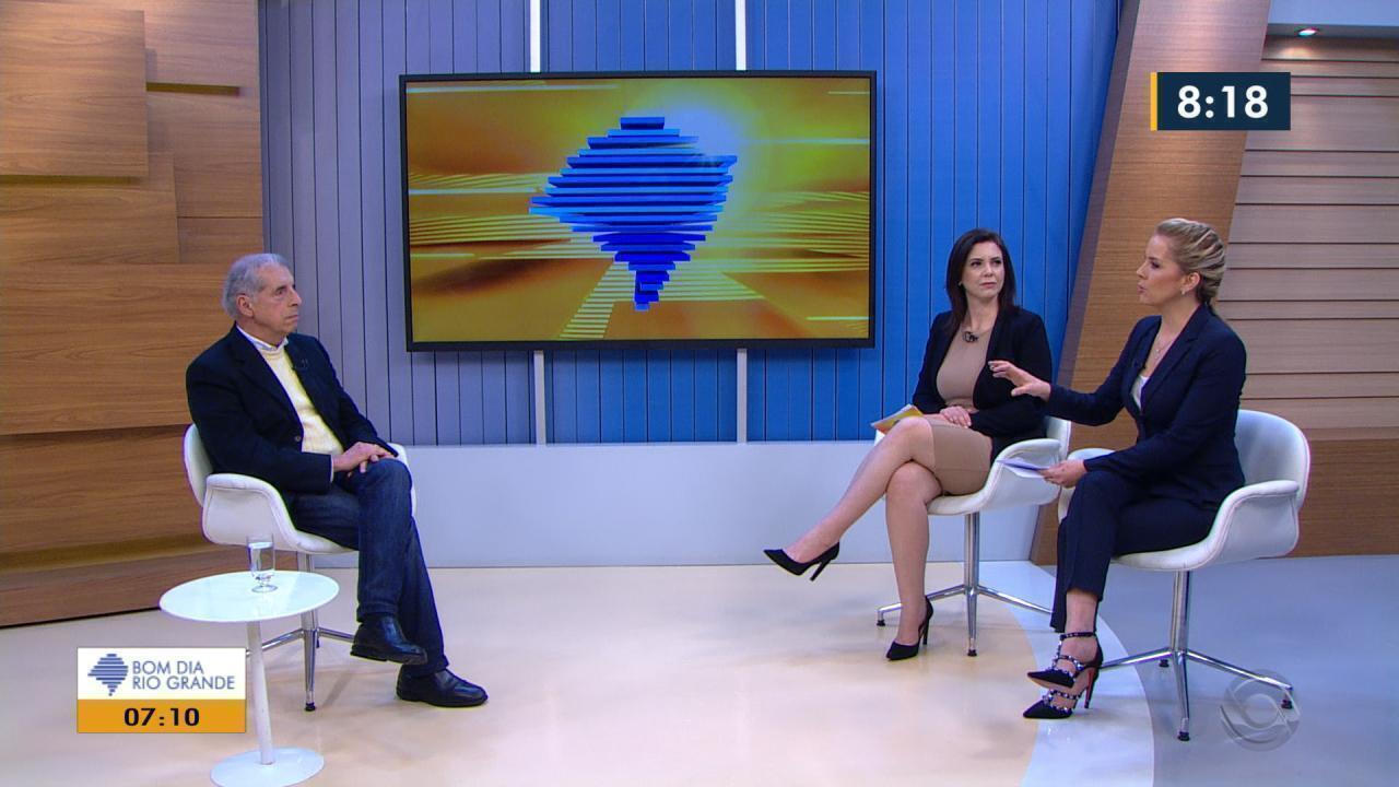 Bom Dia Rio Grande Entrevista José Fogaça Mdb Candidato Ao Senado Pelo Rs