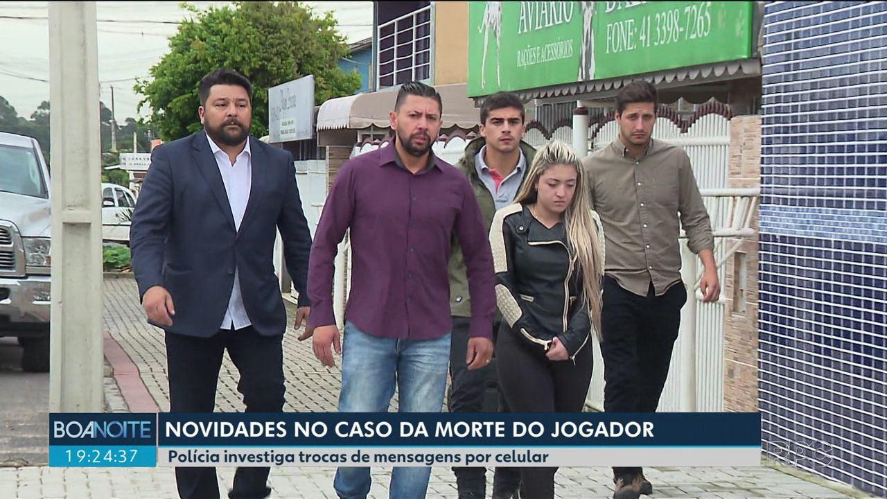 5305e2f405e Troca de mensagens traz novas informações ao caso da morte do jogador  Daniel - G1 Paraná - Paraná TV 2ª Edição - Vídeos - Catálogo de Vídeos