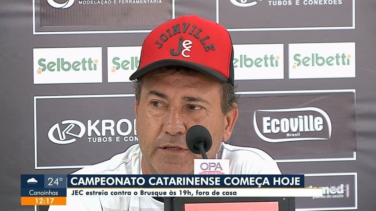 48adb6b1f JEC estreia nesta quarta-feira (16) no Catarinense - G1 Santa Catarina -  Jornal do Almoço - Catálogo de Vídeos
