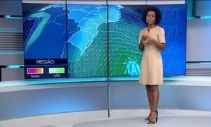Previsão de chuva para o Sul e Sudeste nesta terça (15)