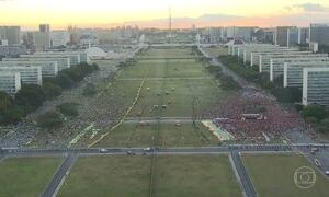 Manifestações contra e pró governo aconteceram em 24 estados e no DF