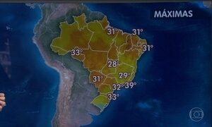 Feriadão terá sol e calor em grande parte do país