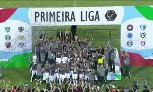 Fluminense vence Atlético-PR e conquista a Copa da Primeira Liga