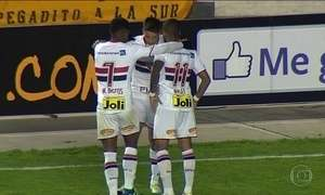São Paulo empata com o The Strongest e se classifica na Libertadores