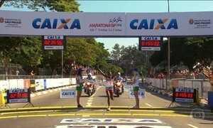 Quenianos dominam Maratona de São Paulo